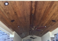Echevarria Pine Tongue and Groove Ceiling