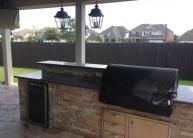 Bodington Outdoor kitchen up close