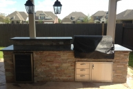 Bodington Outdoor Kitchen 1