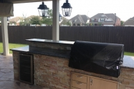 Bodington Outdoor kitchen up close
