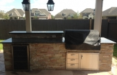 Bodington Outdoor Kitchen 1