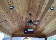Boone Cedar Ceiling complete