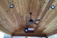 Boone Cedar Ceiling complete