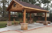 Boone Cedar Pavilion Complete