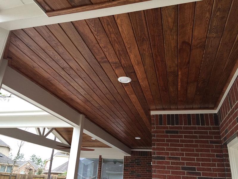 Brown Ceiling
