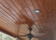 Owen Pine tongue and groove Ceiling