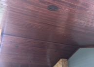 patio ceiling brown