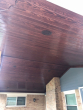 patio ceiling brown
