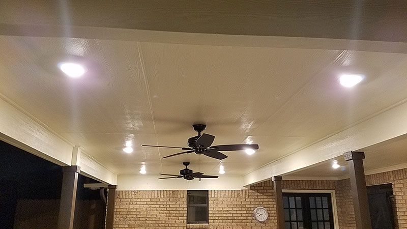 Perfect Patio Ceiling