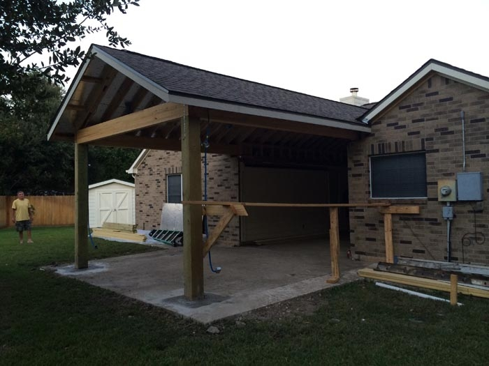 Echevarria   Framing And Roof Complete Right Elevation (2)