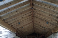 Echevarria Ceiling Rafters complete