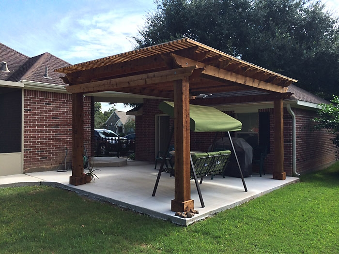 Gentil Houston Patio Builder