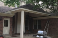 patio roof project