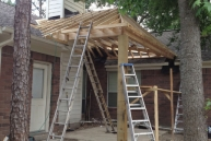 patio roof process