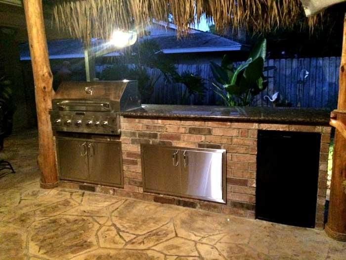 outdoor kitchens houston texas 281-865-5920