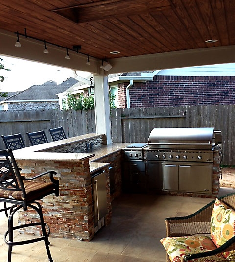 Outdoor Kitchens Houston Texas 281-865-5920