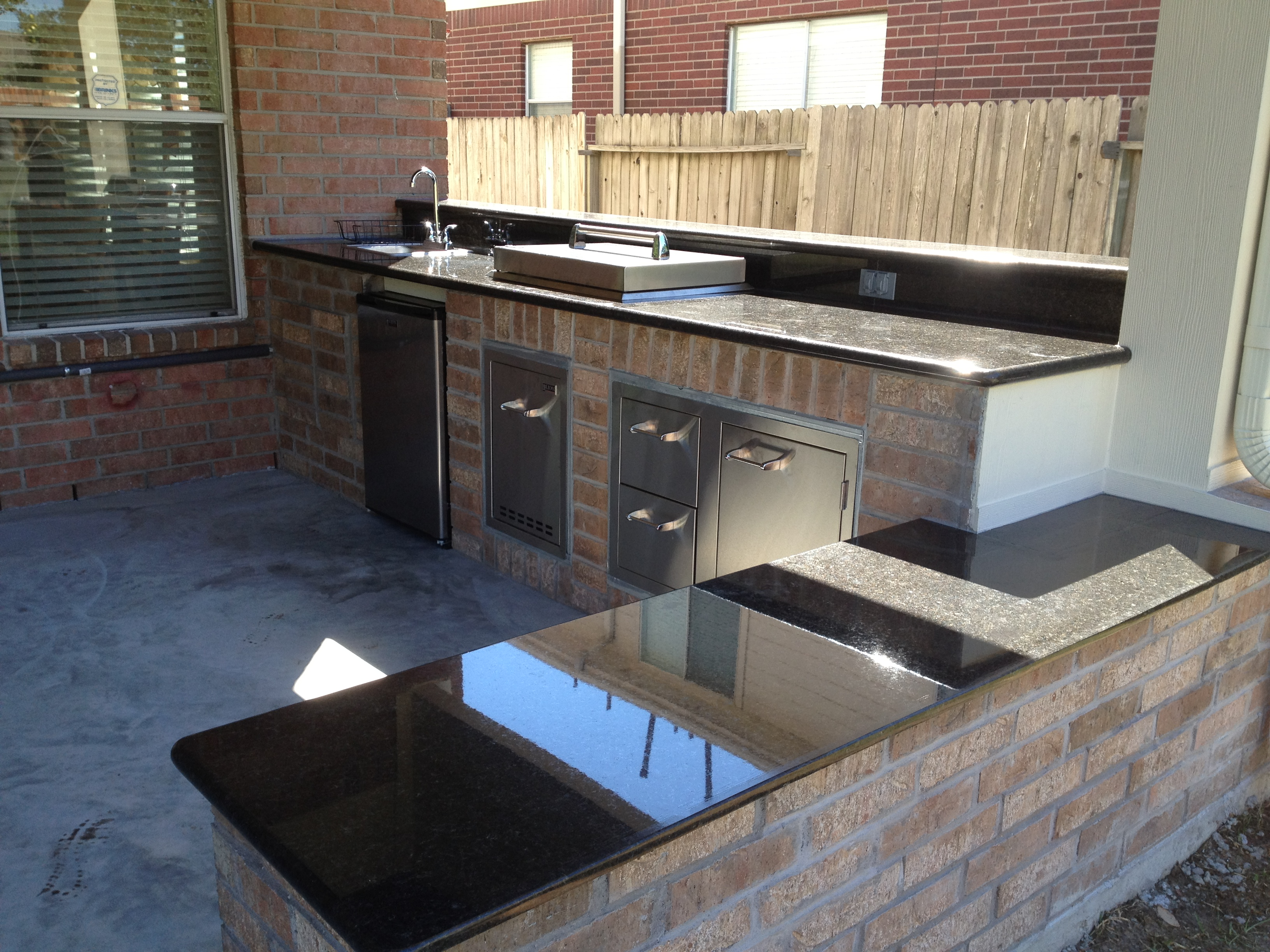 To Build Outdoor Kitchen How To Build An Outdoor Kitchen In Houston Tx