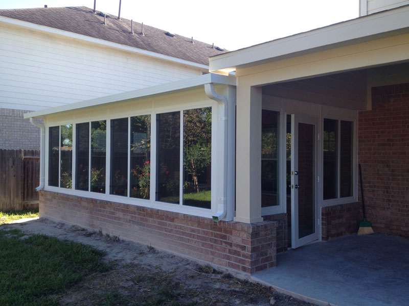 Patel Sunroom And Patio Cover Project