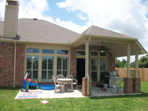 Houston Patio Costs - Patio Covers Houston Texas 281-865-5920