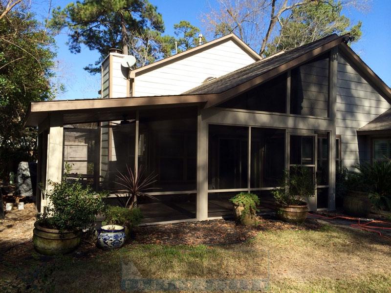 Patio Enclosures Houston Texas - Patio addition