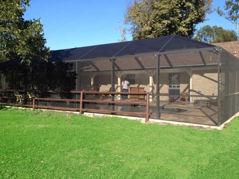 Pool enclosures pool gates in houston texas for Pool enclosures houston