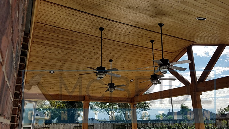 Exceptional Popiak Cedar Gable Patio Cover Project