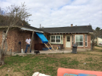 pierce roofing project