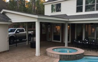 positioning your patio