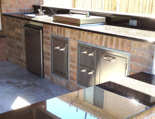Cost To Build An Outdoor Kitchen In Houston