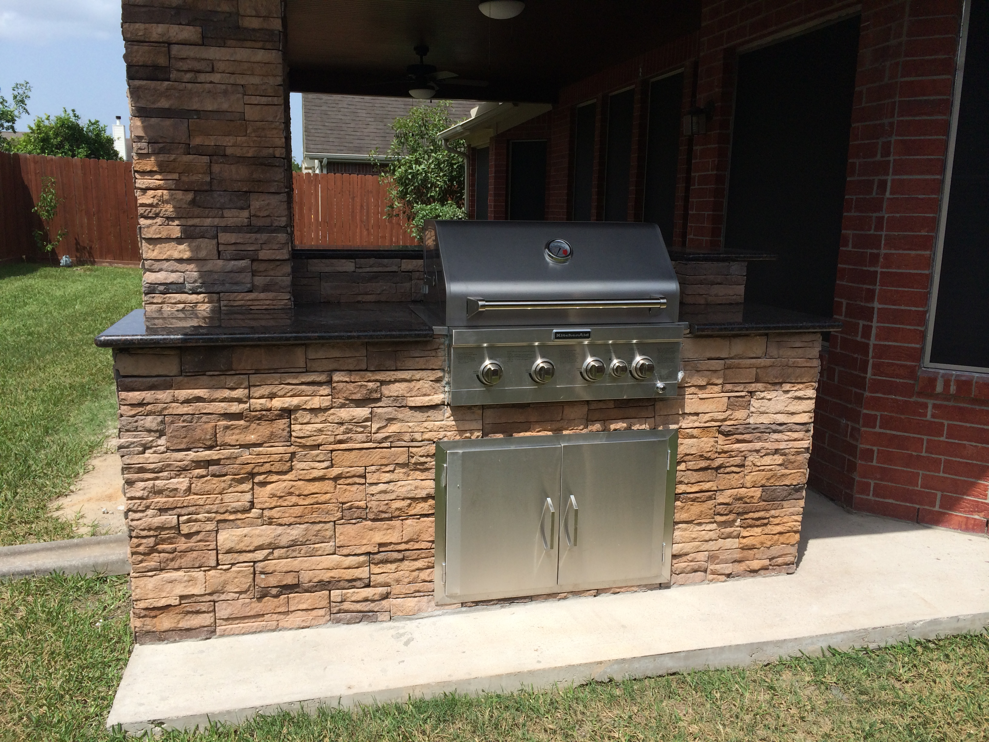Mills Outdoor Kitchen - Complete