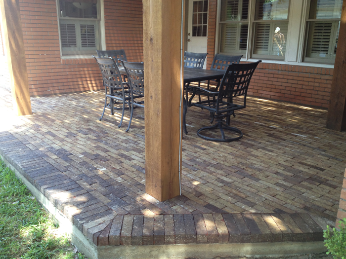 Patio Pavers Houston : Pavers for the patio also known as paving stone are used patios