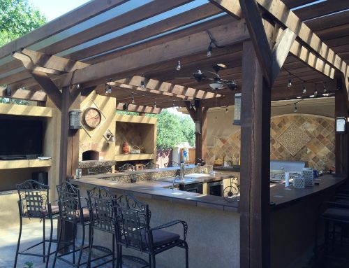 The Perfect Outdoor Kitchen