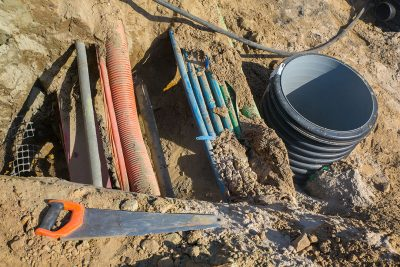 Underground Utility cables