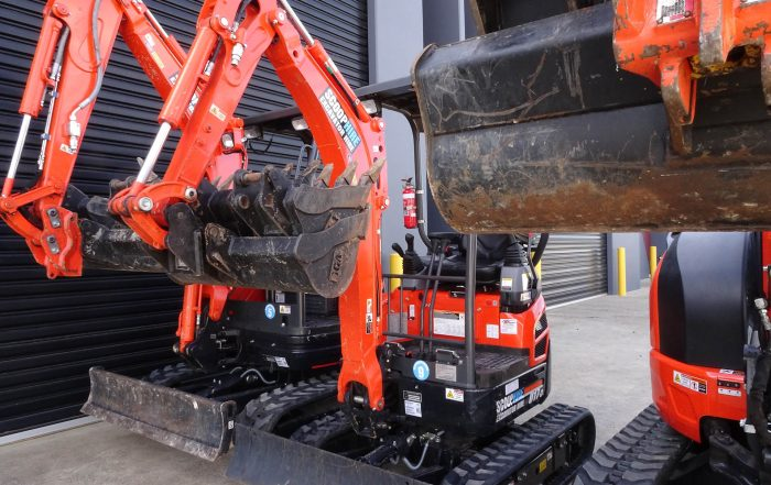 Excavators for home construction