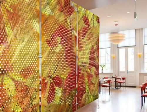 How to decorate your house with perforated metal?